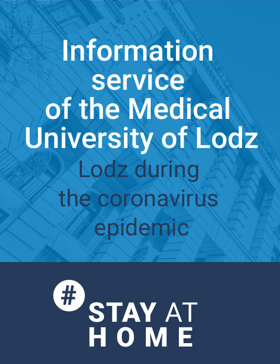 Information service of the Medical University of Lodz during the coronavirus epidemic